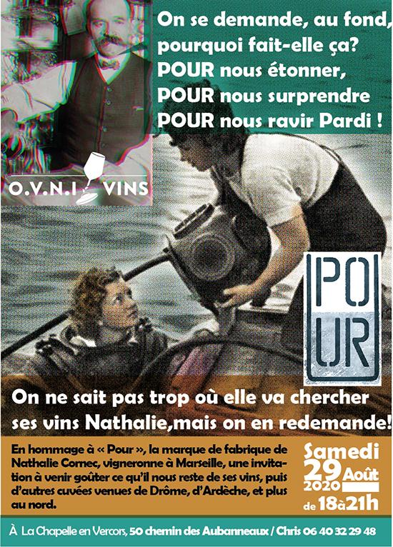 degustation des vins de Nathalie Cornec et plus